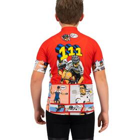 Sportful Super Peter Jersey Kinderen, red